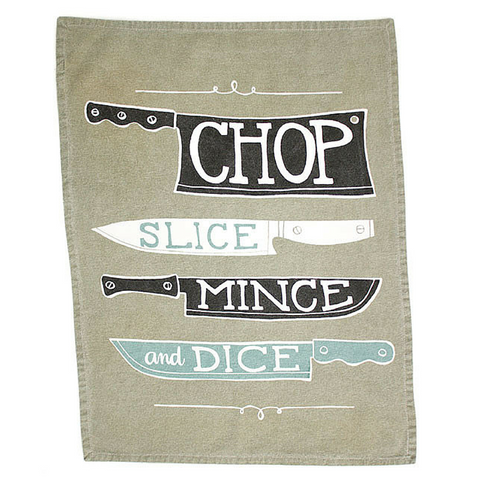 KNIVES TEA TOWEL - Give Lovely