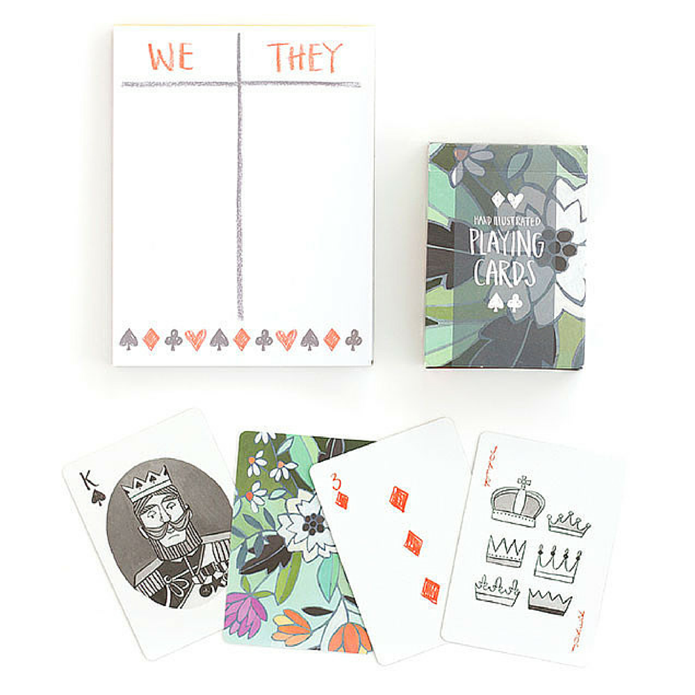 PLAYING CARD & SCORE CARD SET