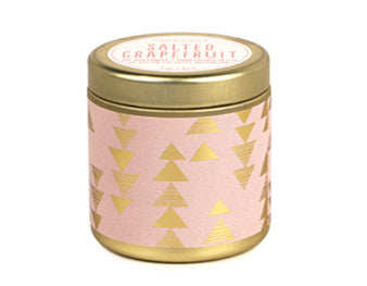 SALTED GRAPEFRUIT TIN CANDLE