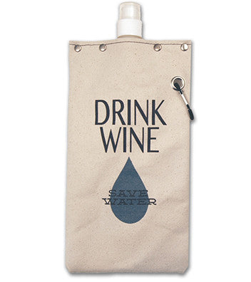 DRINK WINE SAVE WATER CANTEEN - Give Lovely