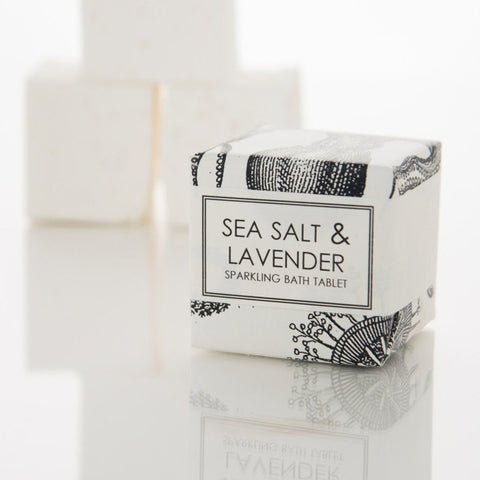 BATH FIZZY - SEA SALT & LAVENDER - Give Lovely
