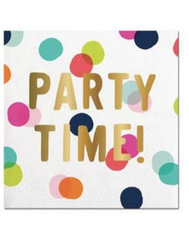 PARTY TIME NAPKINS