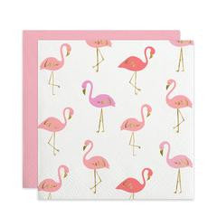 FLAMINGO PARTY NAPKINS