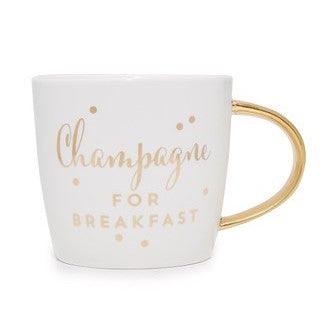 CHAMPAGNE FOR BREAKFAST MUG - Give Lovely