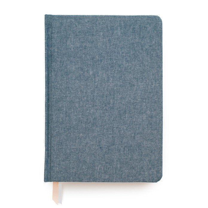 CHAMBRAY TAILORED JOURNAL - Give Lovely