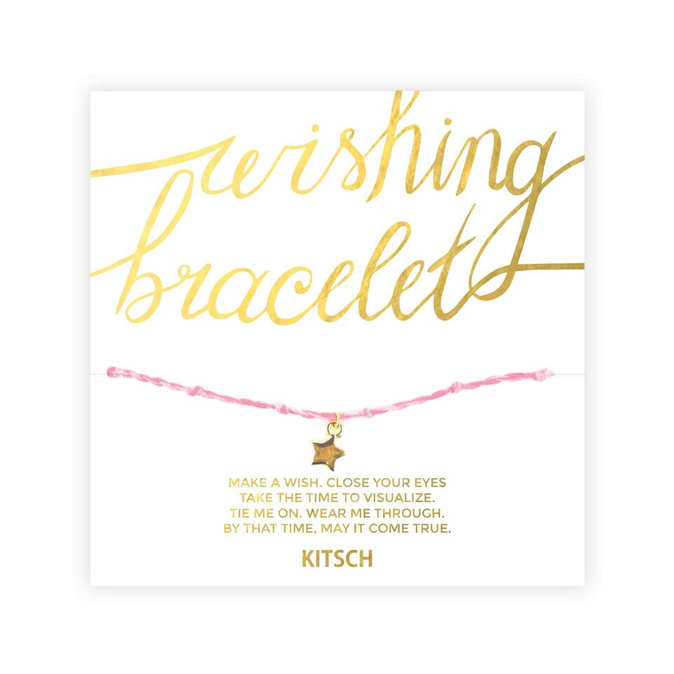 WISHING BRACELET (PINK/YOU GOT THIS)