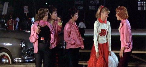 Rizzo and Pink Ladies from Grease