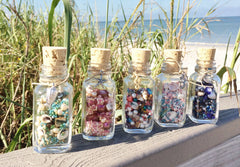 Island Cove castaway bottle bead mixes