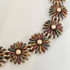 fall chrysanthemum bracelet