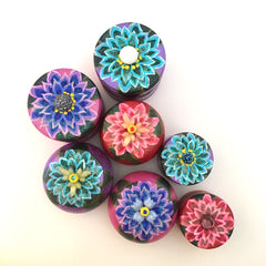 chrysanthemum fairie dust boxes by Catherine Valle