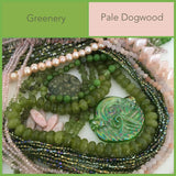 greenery pale dogwood pink pantone