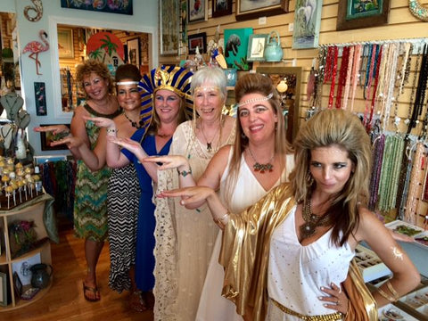 Egyptian Princess Party