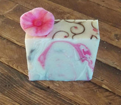 Island Thyme cherry blossom soap