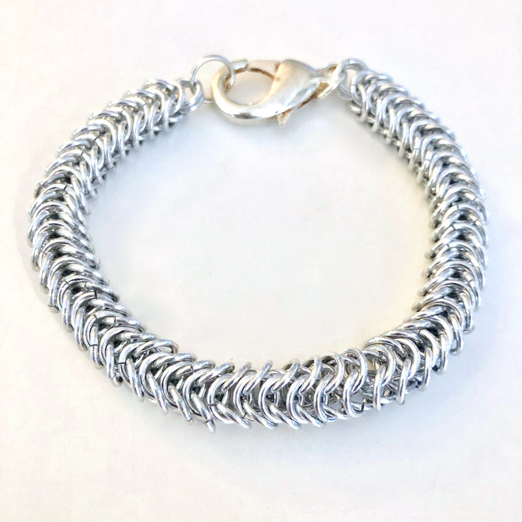 Box Link Chain Maille Bracelet Class