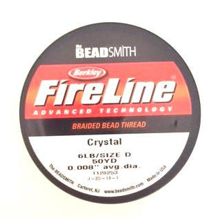spool of crystal fireline beading thread