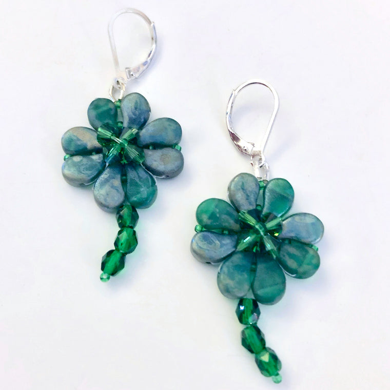 Four Leaf Clover Earrings Class