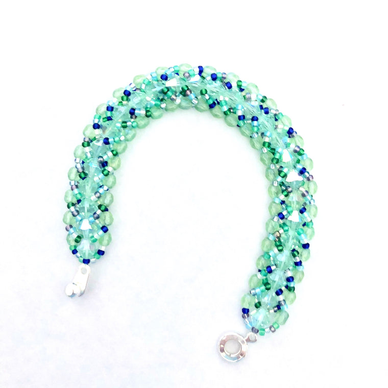 Beach Bling Bracelet Kit - Seafoam Jewels