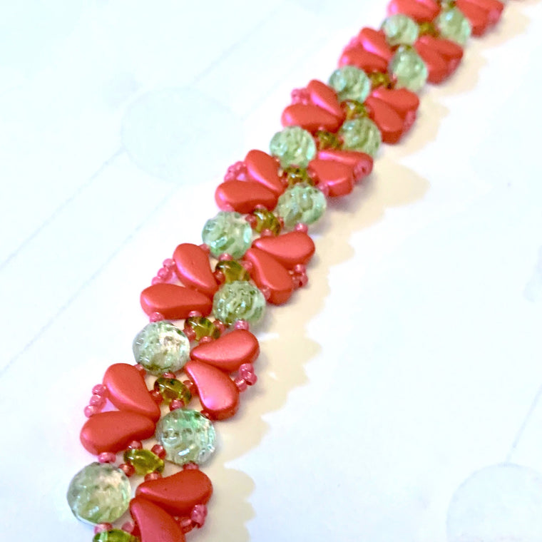 Around My Heart bracelet kit - Watermelon Love