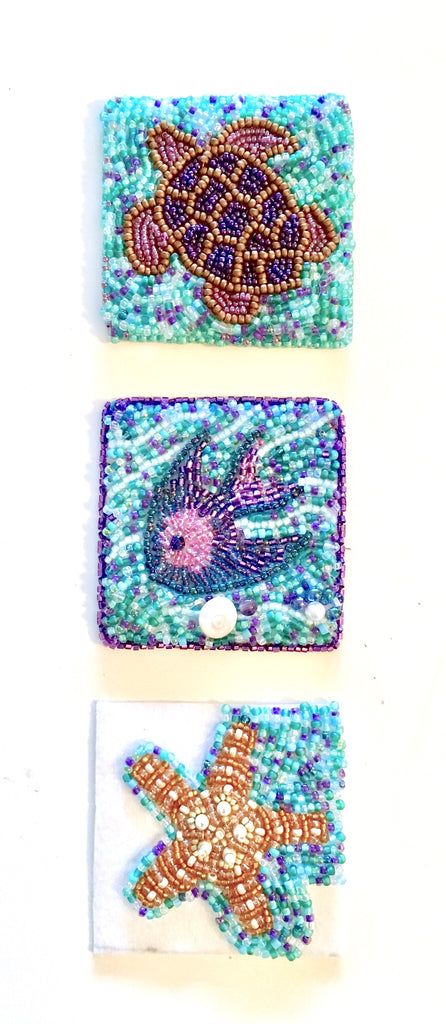 Basic Bead Embroidered Panels Class