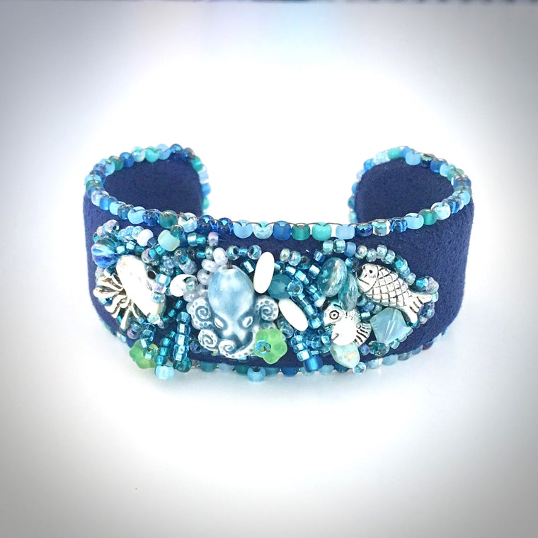 Bead Embroidered Cuff Class