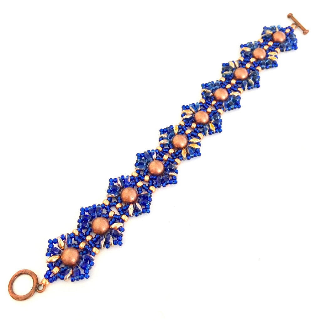 Superduo Lace Band Bracelet Class
