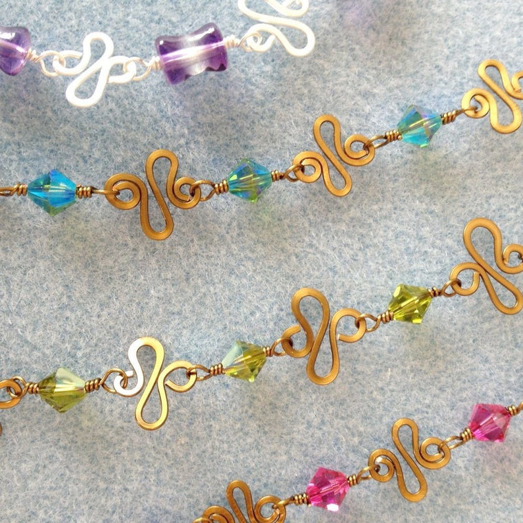 Wire Links Bracelet Island Cove Beads & Gallery