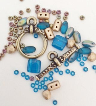 Deco Egyptian Bracelet Kit - Nefertiti's Jewels