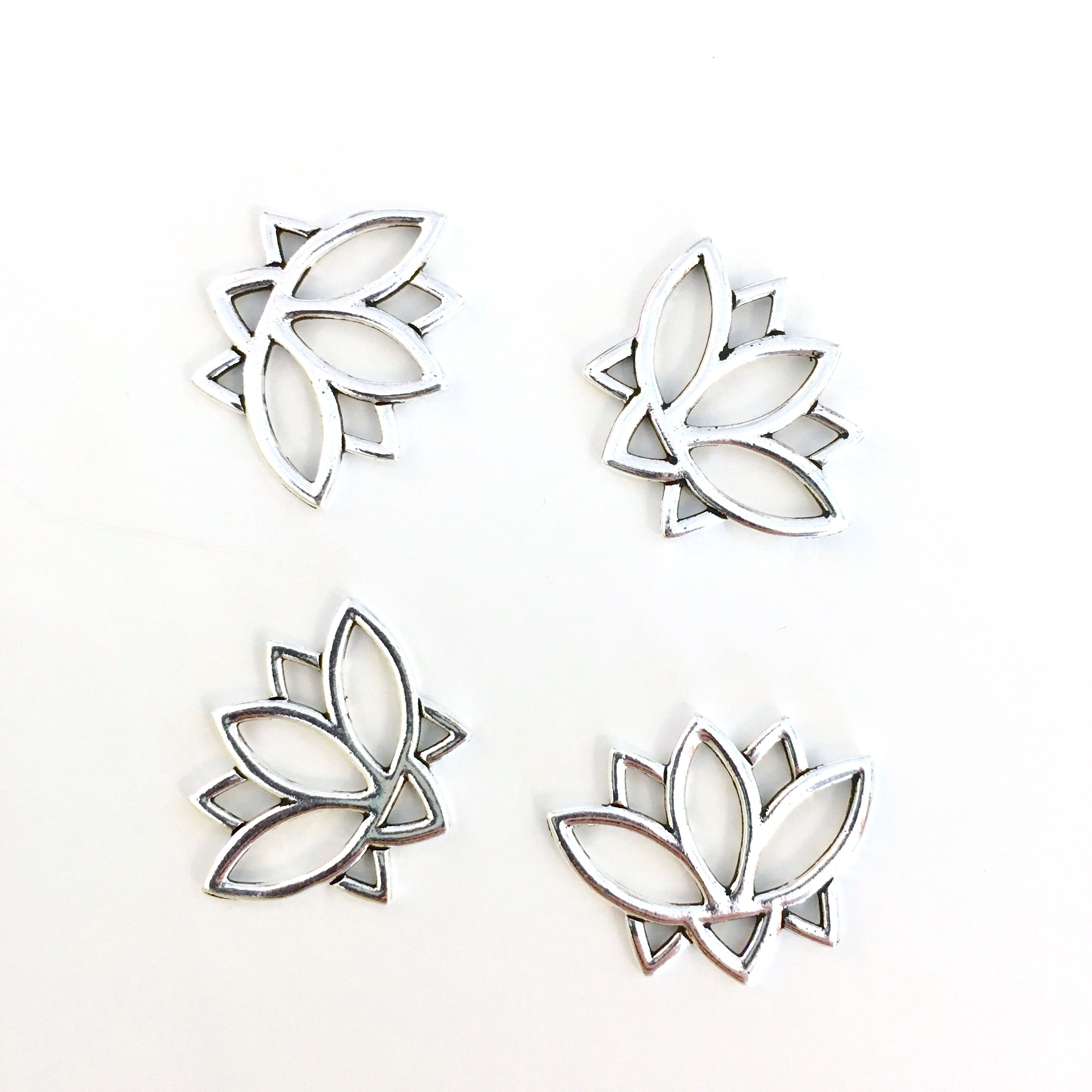Lotus Flower Charms Large Island Cove Beads Gallery