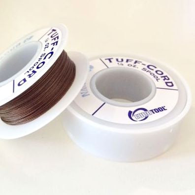 spool of tuff cord brown