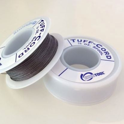 spool of tuff cord hematite grey