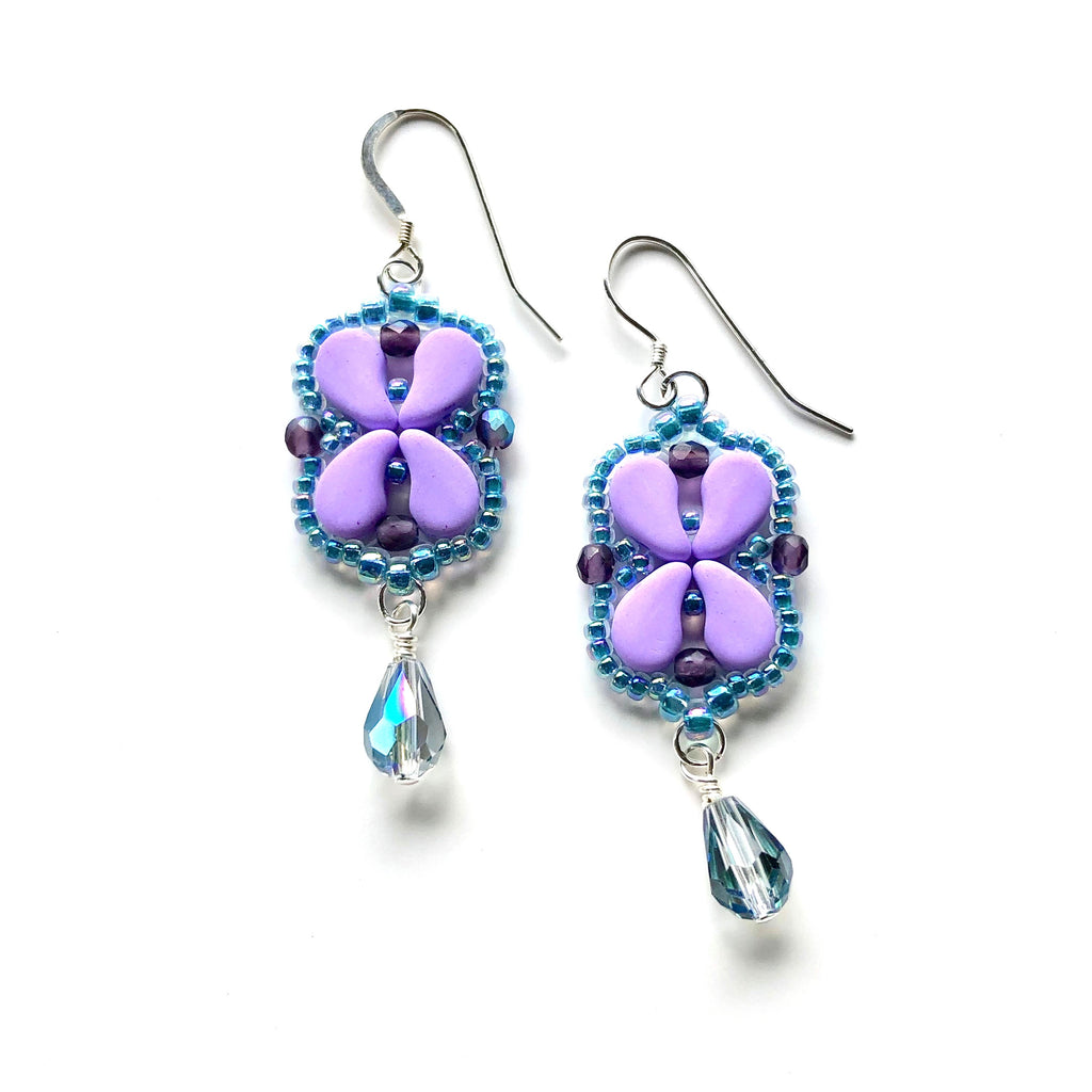 Arabesque Earrings Kit - Lilac Blossom