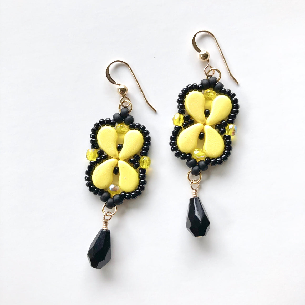 Arabesque Earrings Kit - Bumble Bee