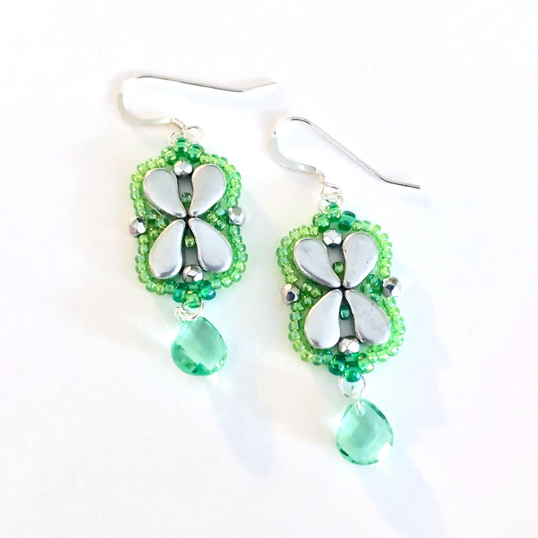 Arabesque Earrings Kit - Luck of the Irish