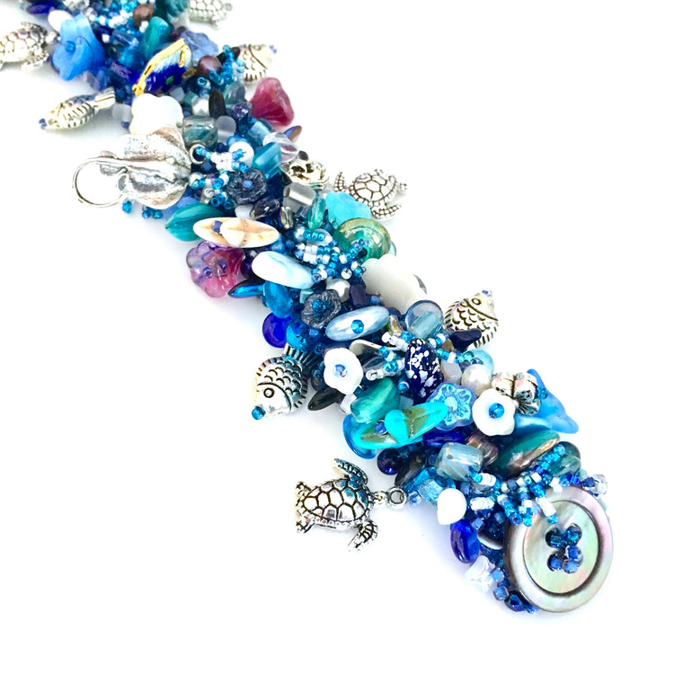 Deep Blue Sea Treasures Bracelet kit