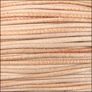 leather cord 1.5mm natural