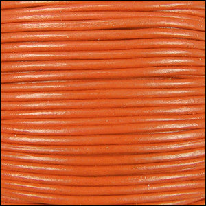 Leather Cord - orange