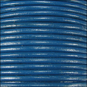 Leather Cord - royal blue