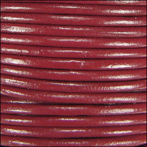 leather cord 1.5mm rust
