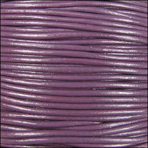 leather cord 1.5mm violet
