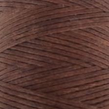 Flat waxed cord - Chestnut