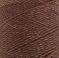 Round waxed cord - Camel