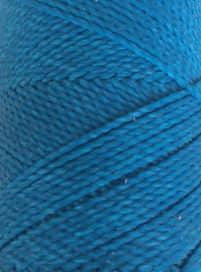 Round waxed cord - Cancun Blue