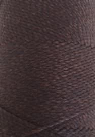 Round waxed cord - Dark Brown