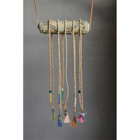 Shama Mala Charm Necklace