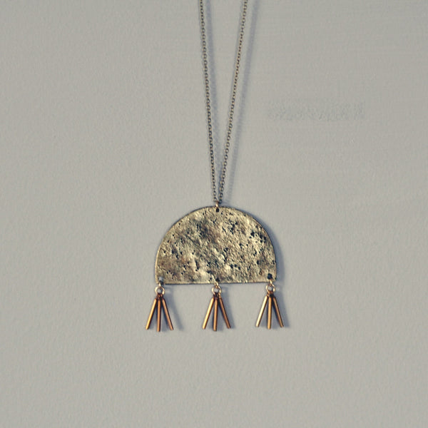 Oyo Half Circle Necklace
