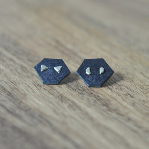 Triangle Nugget Earring