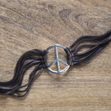 Johnny Loves June Peace Choker