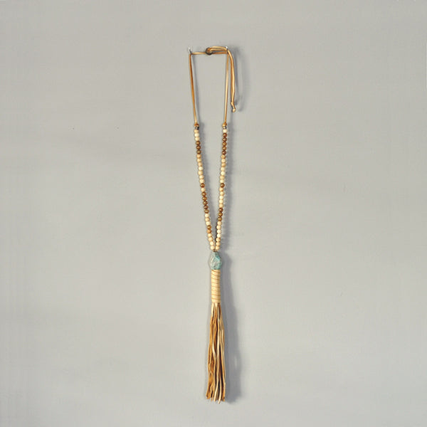Johnny Loves June Casa Boheme Amazonite Necklace
