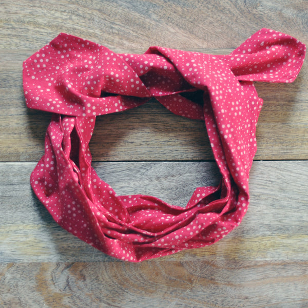 Sia Dotted Headscarf Wrap
