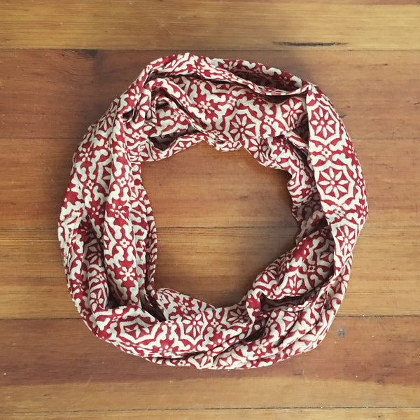 Fez Floral Infinity Scarf
